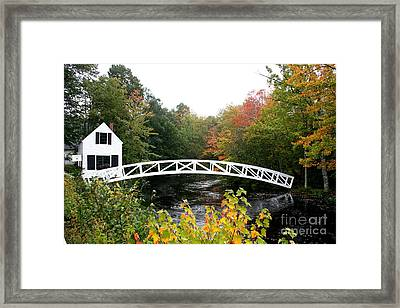 Postcard Idyll Framed Print by Christiane Schulze Art And Photography