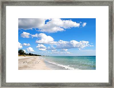 Postcard Perfect Framed Print