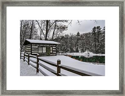 Postcards Home Framed Print