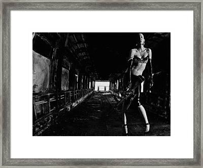 Posted Exacerbation Framed Print by Cecil K Brissette