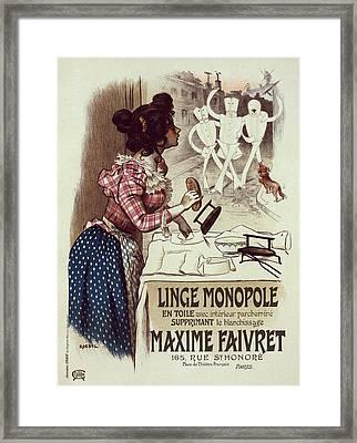 Poster For Linge Monopole Framed Print
