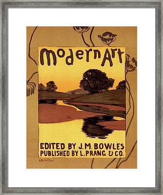 Poster For Lmodern Art Framed Print