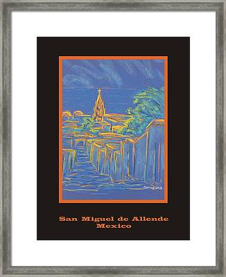 Poster - From The Heights Framed Print by Marcia Meade