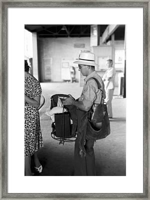 Postman, 1939 Framed Print