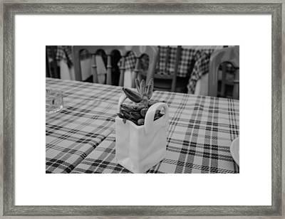 Pot Luck Framed Print