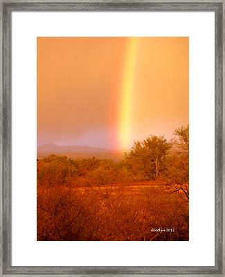 Pot O Gold Framed Print