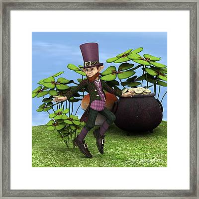 Pot Of Gold Framed Print by Design Windmill