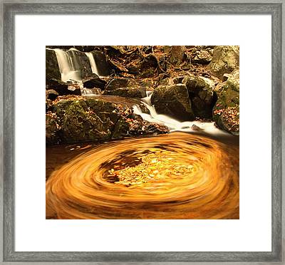 Pot Of Gold In Great Smoky Mountain National Park Framed Print by Dan Sproul