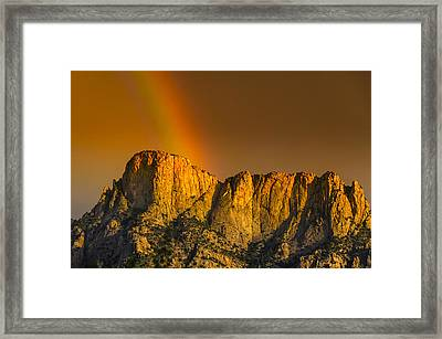 Pot Of Gold Framed Print by Mark Myhaver