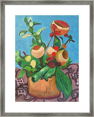 Pot Pourri Framed Print by Esther Newman-Cohen