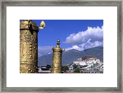 Potala Palace, Tibet Framed Print