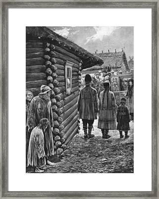 Potemkin Village, 1787 Framed Print