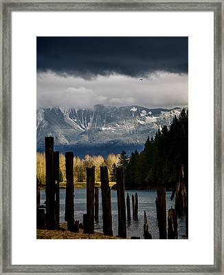 Potential - Landscape Photography Framed Print by Jordan Blackstone