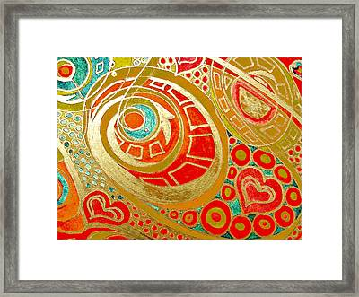 Potentials Of Loving Heart Framed Print by Sheree Kennedy