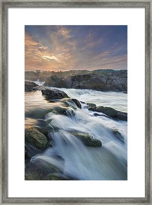 Potomac Light Show Framed Print