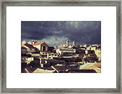 Potosi 2 Towers 70ies Retro Framed Print by For Ninety One Days
