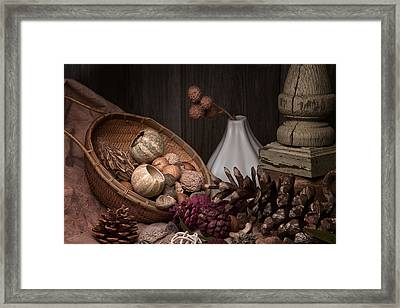 Potpourri Still Life Framed Print by Tom Mc Nemar