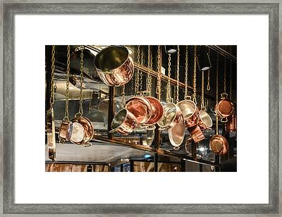 Pots And Pans Framed Print by Priyanka Ravi