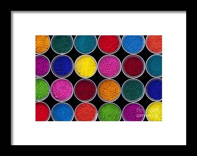 Vivid Colors Framed Prints