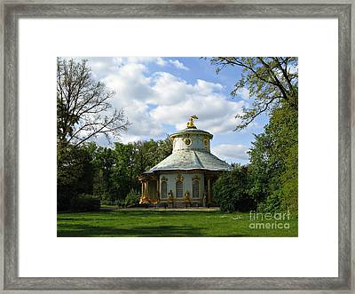Potsdam The Chinese House Framed Print by Kiril Stanchev