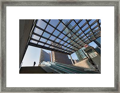 Potsdamer Platz Station Framed Print by Rod McLean