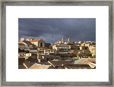 Potosi 2 Towers Framed Print by For Ninety One Days