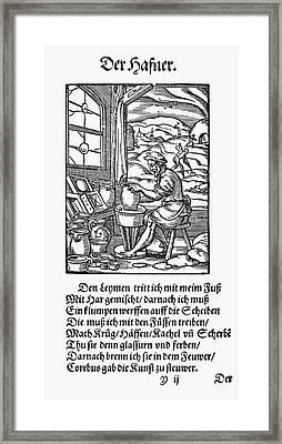 Potter, 1568 Framed Print