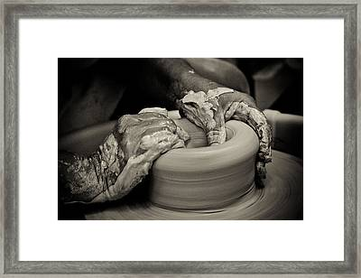 Potter Framed Print