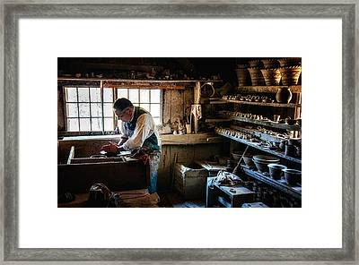 Potters Shed Framed Print by Scott Thorp