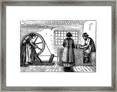 Potter's Workshop Framed Print by Universal History Archive/uig