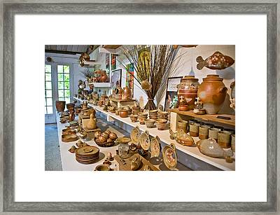 Pottery In La Borne Framed Print by Oleg Koryagin