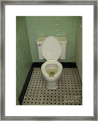 Potty Framed Print by Susan Sorrell