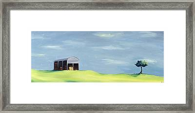 Poulton Fields  Framed Print by Ana Bianchi