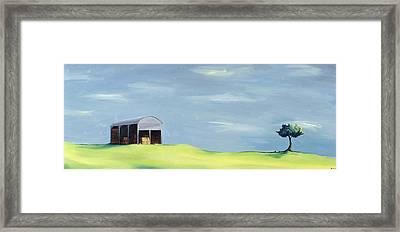 Poulton Fields  Framed Print