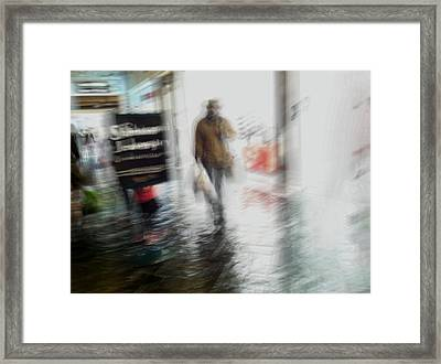 Framed Print featuring the photograph Pounding The Pavement by Alex Lapidus