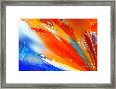 Praise Painting Framed Print by Margie Chapman
