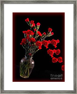 Pouring Out Love Framed Print