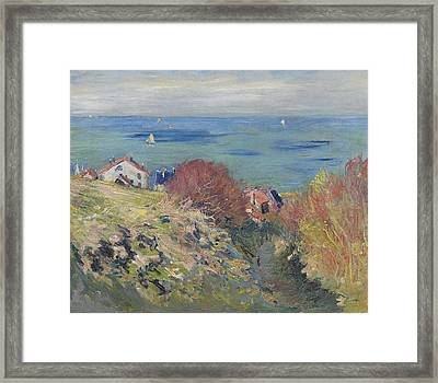 Pourville Framed Print by Claude Monet