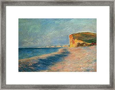 Pourville Near Dieppe Framed Print
