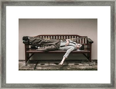 Poverty Stricken Past Framed Print by Jorgo Photography - Wall Art Gallery