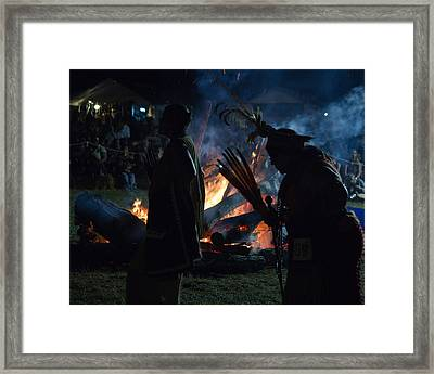 Pow Wow 1 Framed Print