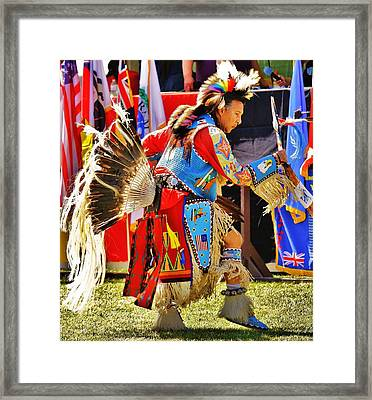 Pow Wow Framed Print