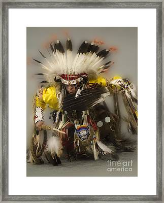 Pow Wow Days Of Thunder   Framed Print by Bob Christopher