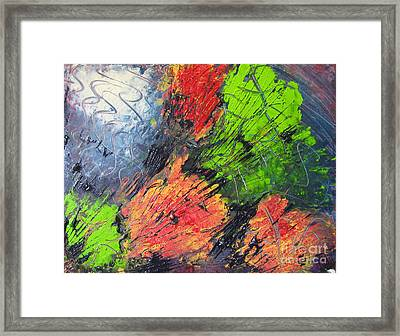 Framed Print featuring the painting Powder And Puff by Lucy Matta