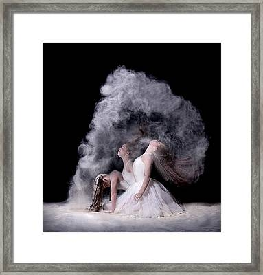 Powder Framed Print