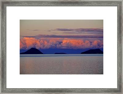 Powdered Sky Framed Print by Marty  Cobcroft