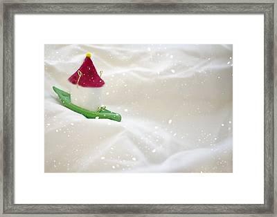 Powdered Sugar Framed Print by Heather Applegate