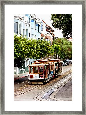 Powell And Market Line Framed Print