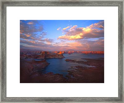 Powell Perfect Framed Print