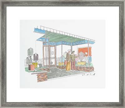 Powell's Framed Print